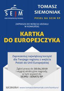 Kartka do Europejczyka